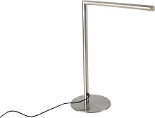 Lámpara de mesa moderna acero táctil LED - DOUWE