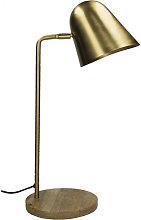 Lámpara De Mesa Saturn Oro - Pomax