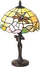 Lámpara de mesa Sirin de estilo Tiffany
