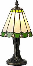 Lámpara de mesa Tiffany Calais 1 Bombilla Cristal