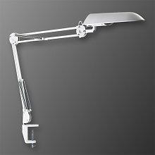 Lámpara de mesa Verit, luz sin centelleo, blanco