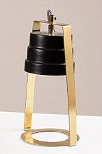 Lámpara de Mesa Whiri Negro Sklum