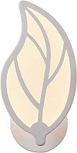 Lámpara de pared acrílico Diseño Hoja Leaf