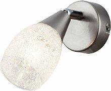 Lámpara de pared Cristal Cristal Salón Foco