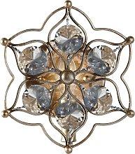 Lámpara de pared de cristal decorativa Leila
