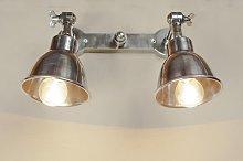 Lámpara de pared de diseño industrial doble