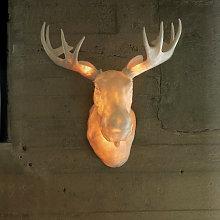 Lámpara de pared de diseño Moo, apta para