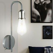 Lámpara de pared de estilo industrial, sala de