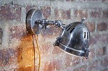 Lámpara de pared de estilo vintage tipo faro