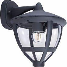 Lámpara de pared exterior ALU linterna jardín