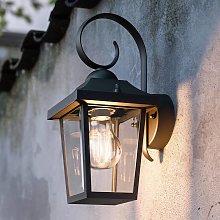 Lámpara de pared exterior Buzzard myGarden negro