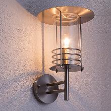 Lámpara de pared exterior de acero inoxidable Miko