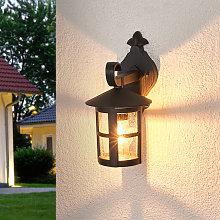 Lámpara de pared exterior romántica Bertil