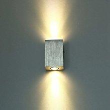 Lámpara de Pared LED Moderna de 6W Aplique de la