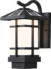 Lámpara de Pared Solar al Aire Libre, Luces de
