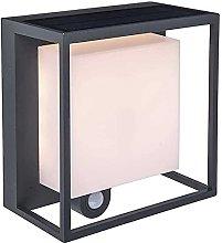 Lámpara de Pared Solar con Detector de