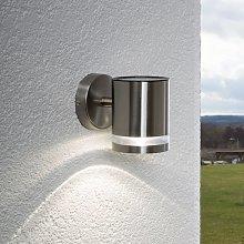 Lámpara de pared solar Salma con LED