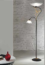 Lámpara de pie AMABILE con lámpara de lectura