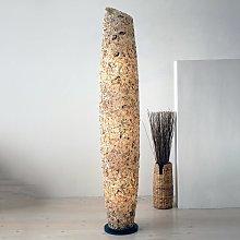 Lámpara de pie Columna de Conchas