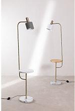 Lámpara de Pie con Mesa Águeda Celadón Sklum