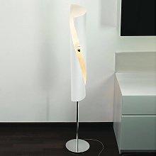 Lámpara de pie de diseño Hué en blanco