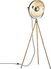 Lámpara de pie Delhi con armazón trípode