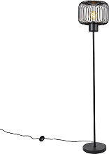 Lámpara de pie diseño negra - BAYA