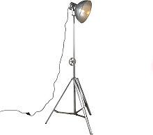 Lámpara de pie industrial acero - SAMIA Sabo