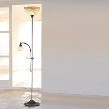 Lámpara de pie Lacchino con atenuador en su base