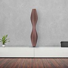 Lámpara de pie LED Flechtwerk Lava, 75cm, cobre