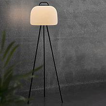 Lámpara de pie LED Kettle Tripod metal tulipa 36cm