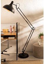 Lámpara de Pie Lexo Negro Sklum