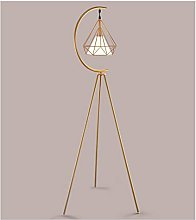 Lámpara de Piso Nordic Modern Cobre Triángulo