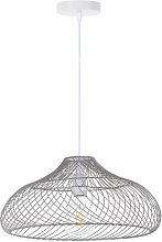 Lámpara de Techo Akame Gris 42,5x42,5x18cm
