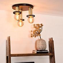 Lámpara de techo Anaka, plafón de 3 luces
