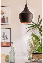 Lámpara de Techo Bliko Negro Sklum