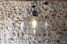 Lámpara de techo de cristal Hoonui