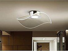 Lámpara de Techo de luz LED, Metal Acabado Cromo