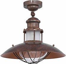 Lámpara de techo estilo industrial lámpara de