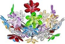 Lámpara de techo Flower multicolor