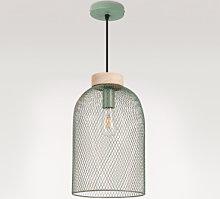 Lámpara de Techo Iriq Celadón Sklum
