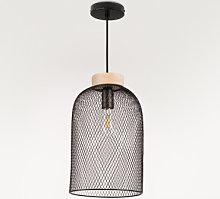 Lámpara de Techo Iriq Negro Sklum