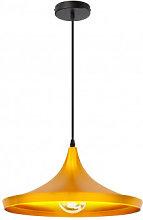 Lámpara de Techo Krhas Amarillo Oro Sklum