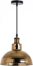 Lámpara de Techo Kutno Dorado 26x26x16cm