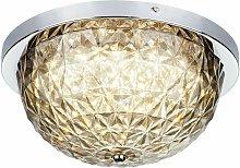 Lámpara de techo LED con luz de techo de cristal