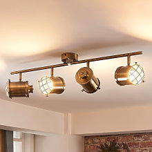 Lámpara de techo LED Ebbi de 4 luces, easydim