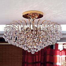 Lámpara de techo LENNARDA elegante, dorada