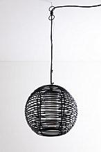 Lámpara de Techo para Exterior Bissel Negro Sklum