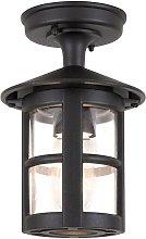 Lámpara de techo para exterior Hereford