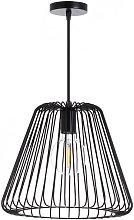 Lámpara de Techo Plock Negro 34x34x28cm 7hSevenOn